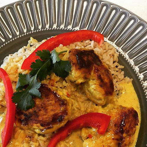 Sweet Chili Curry Chicken