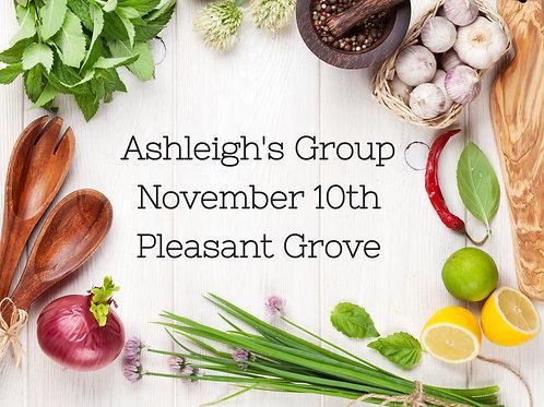 Ashleigh's Private Group -  Nov 10