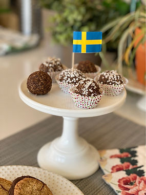 Swedish  Chocolate  Balls  (Chokladbollar)
