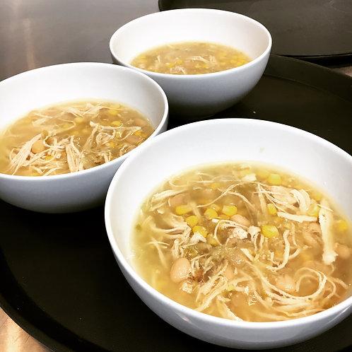White Chicken Chili Soup