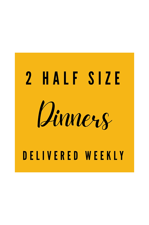 Dinner Crafts Delivery -  Half Size Weekly