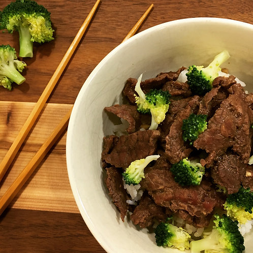 Pre-Cooked Beef & Broccoli
