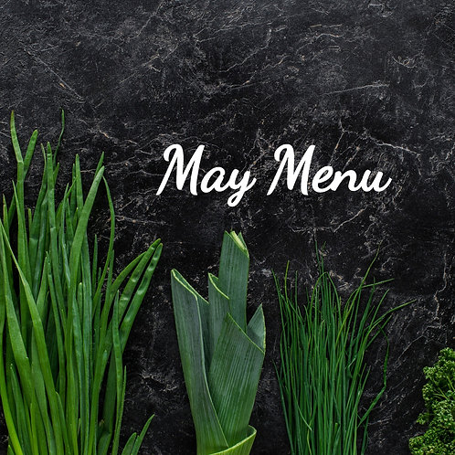 May's Menu Pre-Made - 16 Half sized (feeds 3-4)