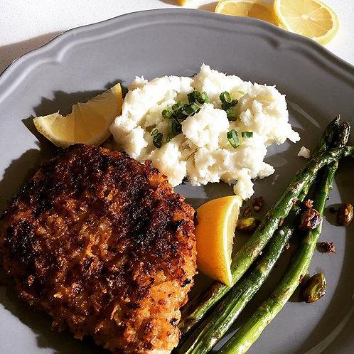 Pre-Cooked Lemon & Sage Pork Chops