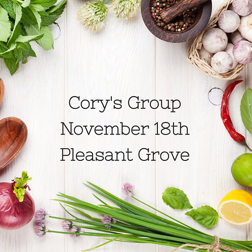 Cory's Private Group -  Nov 18th