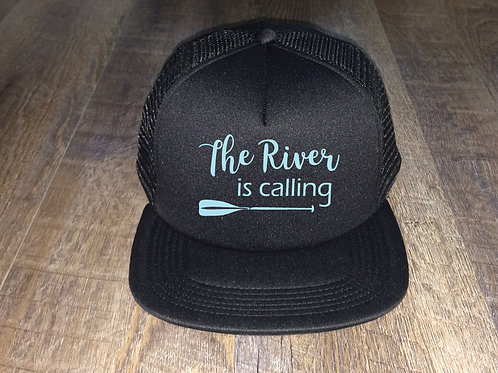 The River is Calling Trucker Hat