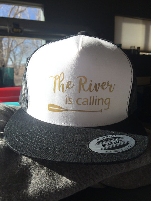 Ladies Trucker Hat~The River is calling