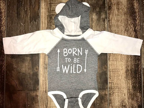 Long Sleeve Baby Bear Bodysuit