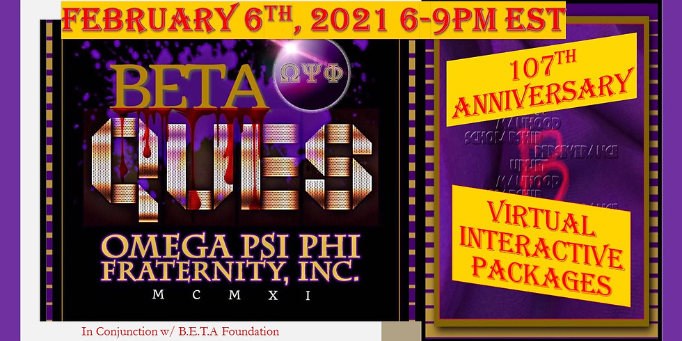 Omega Psi Phi, Beta Chapter 107th Chapter Anniversary