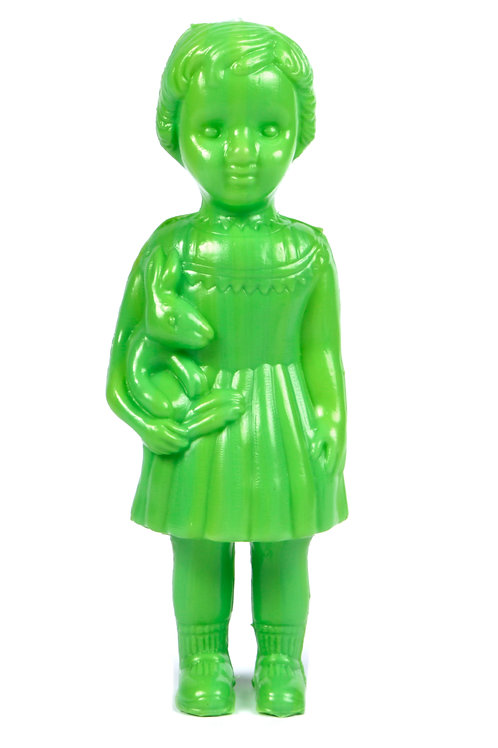 Lime Green Clonette Doll