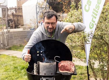 Steak direkt aus der Kohle