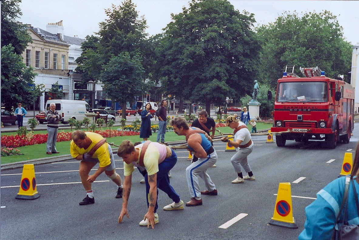 Fire Engine Pull 1992