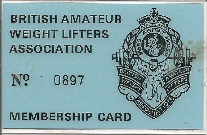 BAWLA Card 1980