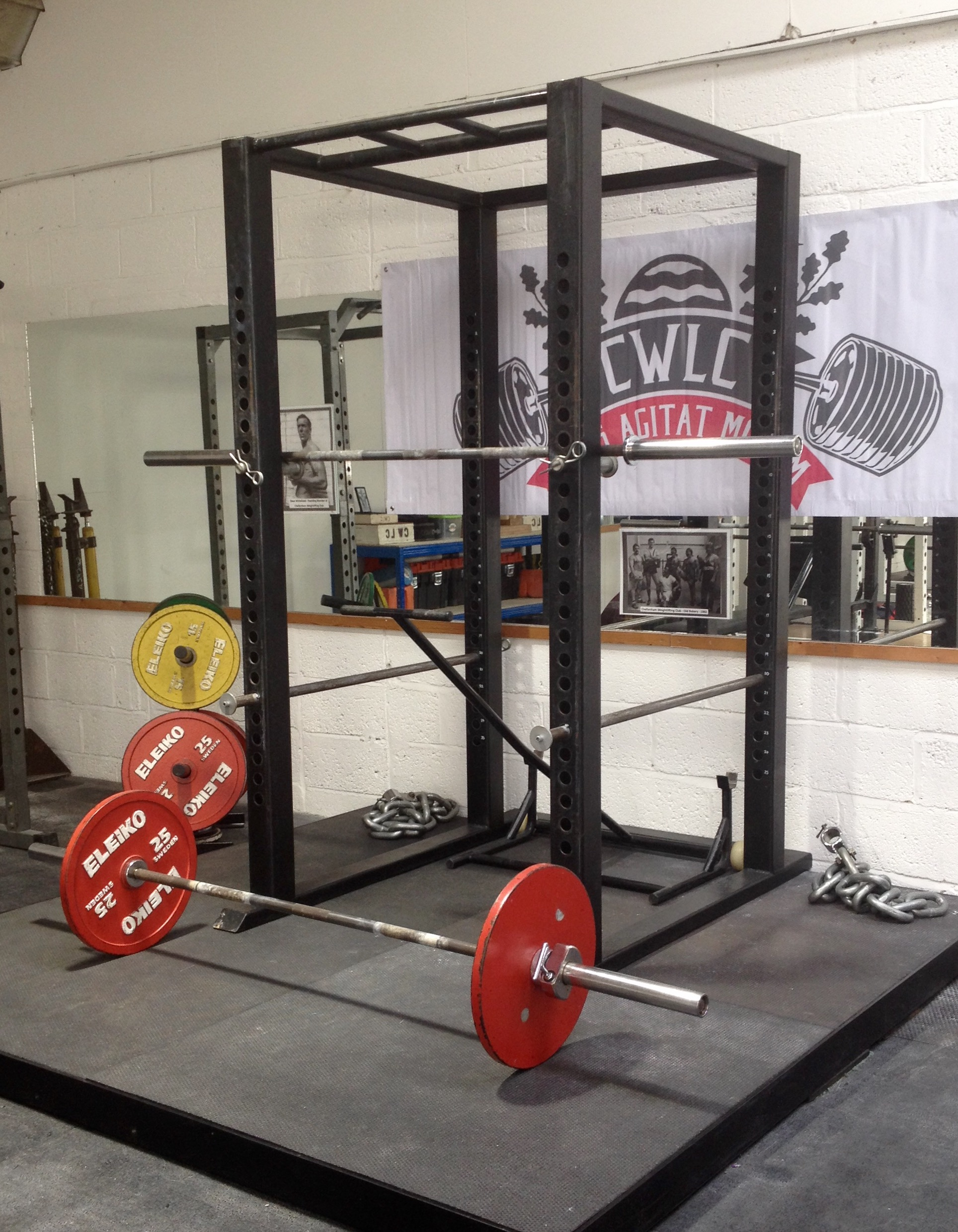 Squat Rack & Platform