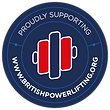 The Strength Shack, Proudly Supporting British Powerlifting