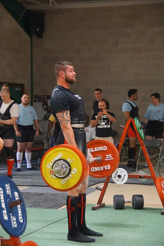 Mikey Roberts 262.5kg Deadlift