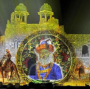 Light and Sound Show- Red fort, Delhi.jf