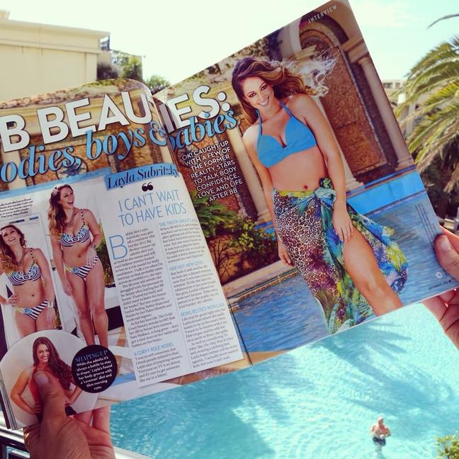 Behind The Scenes: OK! Magazine shoot