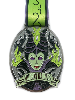 Hidgon Haunts 10K Medal