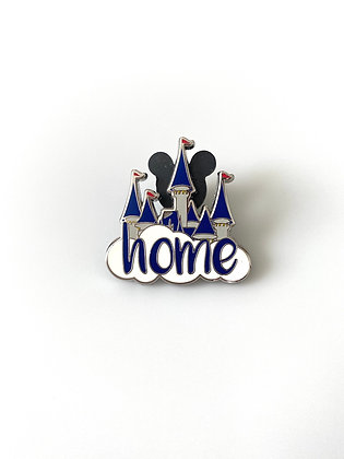 Disney 'Home' Castle Pin