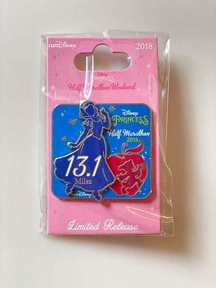 2018 Princess Half Marathon Pin