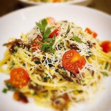 Pasta carbonara for brunch!! #socogoodea