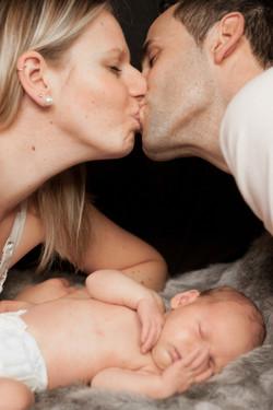 Mariella mit Eltern