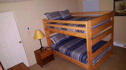Bedroom #4 Full Size Bunk Beds