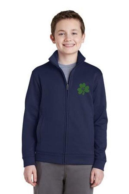 #YST241 Sport-Tek® Youth Sport-Wick® Fleece Full-Zip Jacket