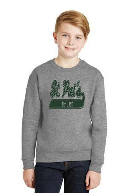 #562B JERZEES® - Youth NuBlend® Crewneck Sweatshirt