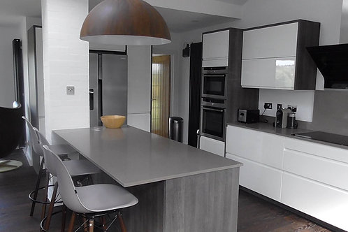 Silestone Gris Expo 20mm