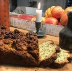 gulten free almond flour honey bread mad