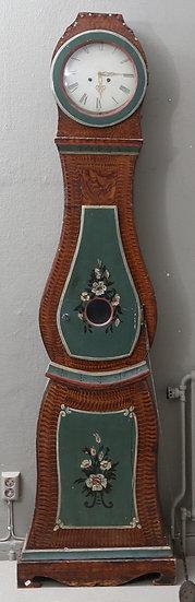 CL174 Mora Clock Swedish Antique Folk Art 1800s 200cm