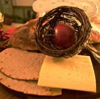 swedish christmas cheese ost and crispbr