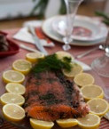 swedish organic homemade smoked salmon f