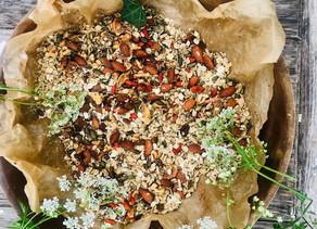 Good Girl Organic Granola Gluten Free with Goji Berries, Chi Seeds & Cinnamon