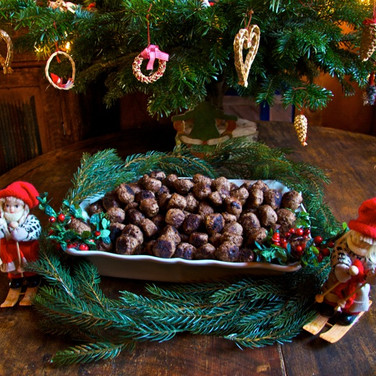 swedish christmas meatballs from madelei