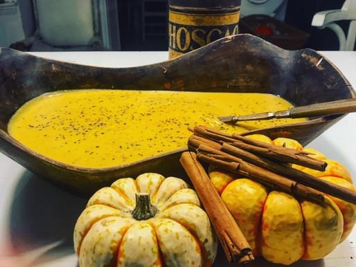 Easy Winter Cinnamon Butternut squash Auto Immune soup