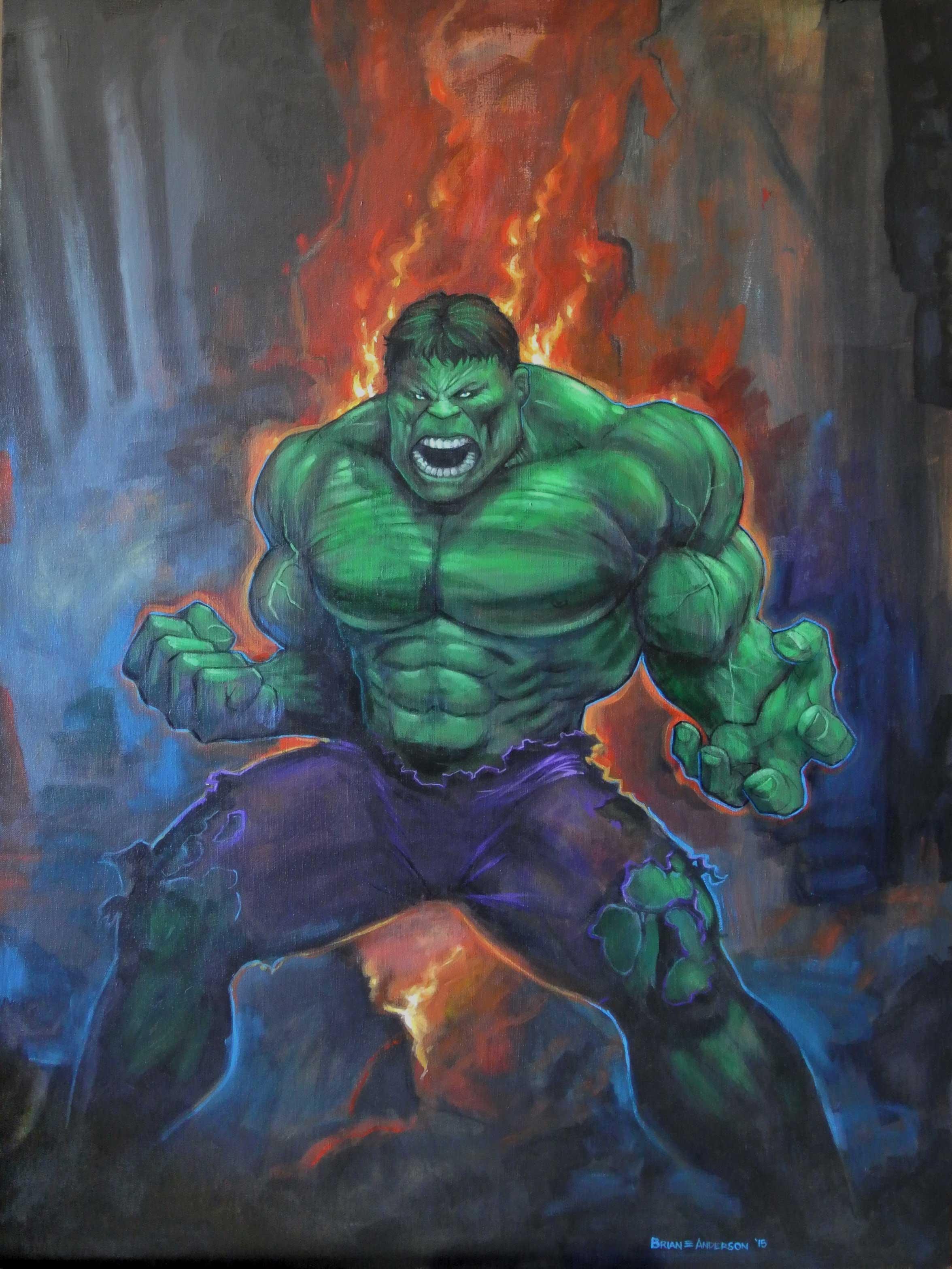 Hulk Fire