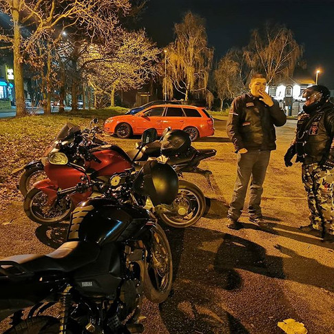 Good night at two different bike nights.