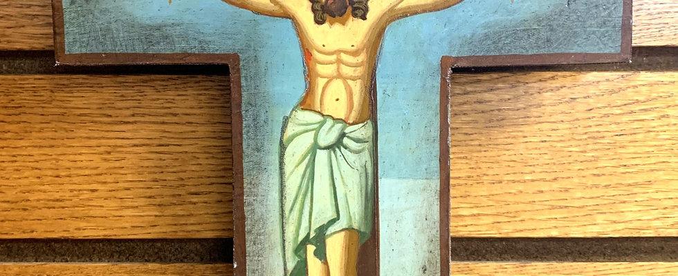 Crucifixion Icon Cross