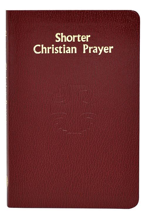 Shorter Christian Prayer Book