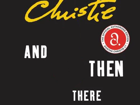 January Book Club Selection: And Then There Were None