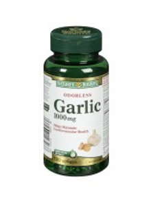 NATURE'S BOUNTY ODOURLESS GARLIC SOFTGELS 100'S