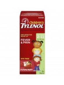 TYLENOL CHILD BERRY DYE FREE 100ML