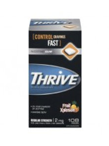 THRIVE NICOTINE FRUIT EXPLSN GUM 2MG 108'S
