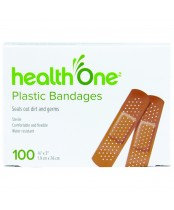 H ONE PLASTIC BANDAGES BOX 100'S