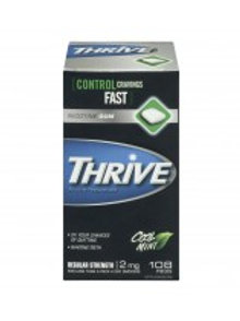 THRIVE NICOTINE MINT GUM 2MG 108'S