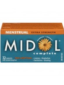MIDOL MENSTRUAL COMPLETE 32'S