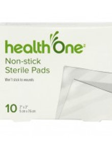 H ONE GAUZE PADS NON-ADHESIVE 2'X3' 10'S